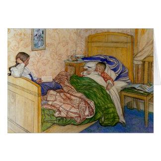 In het Bed 1908 van Mum Kaart