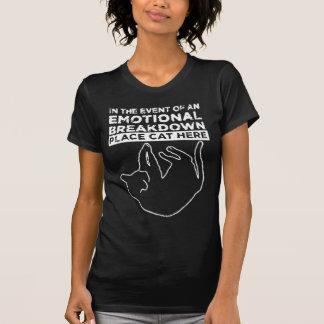 In het geval van een EMOTIONELE ANALYSE T Shirt