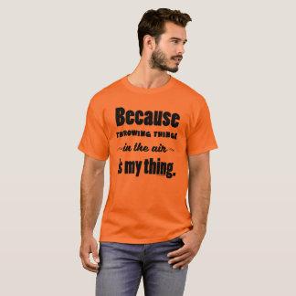 In het Overhemd van de Hamer van de Speer van de T Shirt