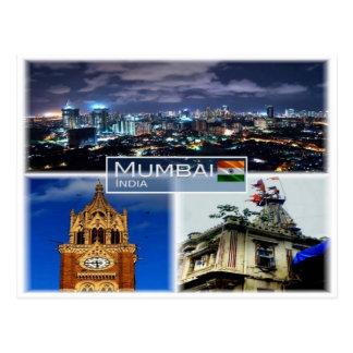 IN India -   Mumbai Bombay - Briefkaart