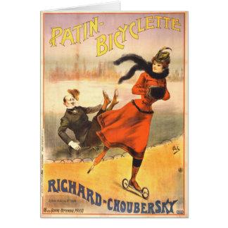 In-Line Schaatsen 1890 Briefkaarten 0