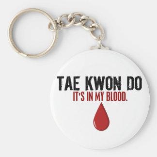In Mijn Bloed TAE KWON Sleutelhanger