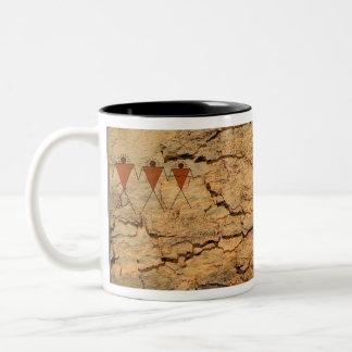 In Ons Afbeelding Tweekleurige Koffiemok