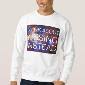in plaats daarvan het kussen trui