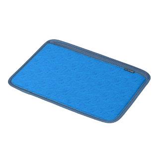 In reliëf gemaakte Rozen Lt. Blue Macbook Air MacBook Sleeve