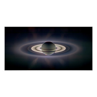In Verbeterde de Schaduw van Saturn Poster