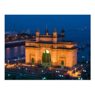 INDIA, Mumbai (Bombay): Gateway van India/ Briefkaart