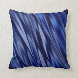 Indigo & de violette blauwe strepen van de sierkussen