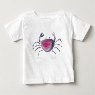 Indigo en Roze Krab Baby T Shirts