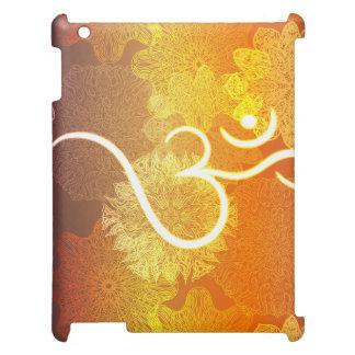 Indisch ornamentpatroon met ohmsymbool hoesje voor iPad
