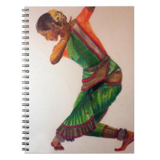 Indische dans II Notitieboekje Notitieboek