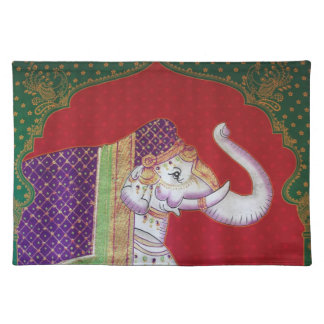 Indische olifanten Amerikaanse MoJo Placemat