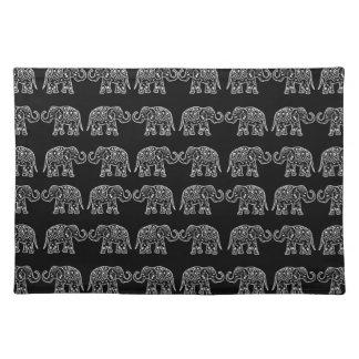 Indische olifanten placemat