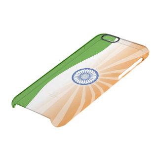 """""""Indische"""" zon Doorzichtig iPhone 6/6S Hoesje"""