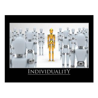 Individualiteit Briefkaart