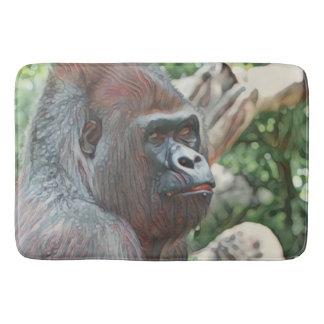 Indrukwekkend Dier - Sterke Gorilla Badmatten
