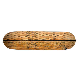 Industriële Houten die Strepen in de V.S. worden Skateboard Deck
