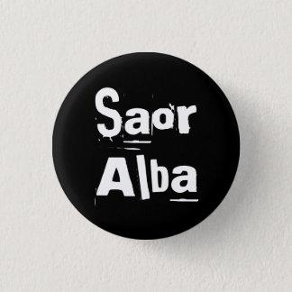 Indy Punk Saor Alba Gaëlisch Schotland Pinback Ronde Button 3,2 Cm