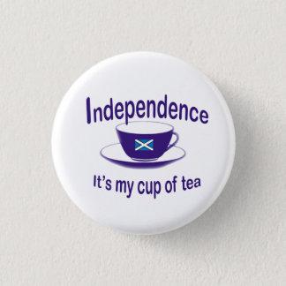 #indyref Onafhankelijkheid Mijn Knoop van de Kop Ronde Button 3,2 Cm