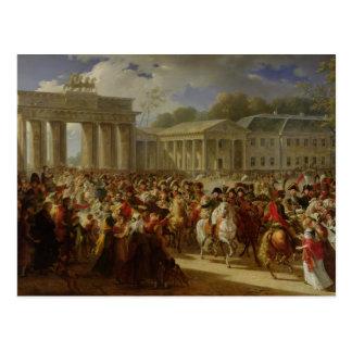 Ingang van Napoleon I in Berlijn Briefkaart
