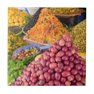 Ingelegd Voedsel bij Markt Tegeltje