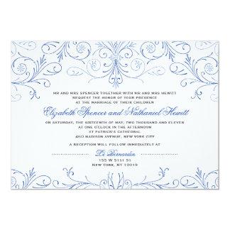 Ingewikkeld bloei de Uitnodiging van het Huwelijk
