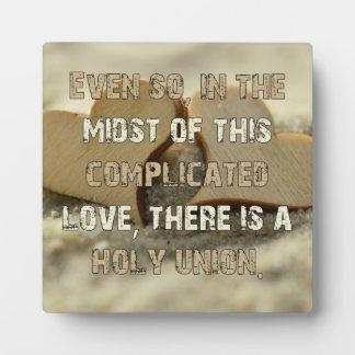 Ingewikkelde Liefde Fotoplaat