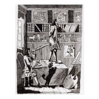 Ingewikkelde Richardson, 1724 Briefkaart