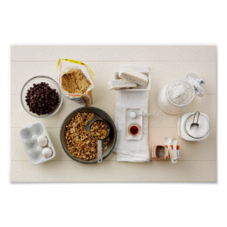 Ingrediënten & Hulpmiddelen 3 Poster