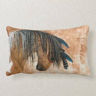 Inheems Amerikaans Paard door BiHrle Pillow Lumbar Kussen