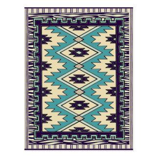 Inheems Belangrijkst Patroon Briefkaart