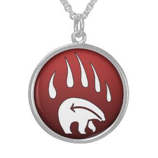 Inheems draag Juwelen van de Kunst van het Wild Sterling Zilver Ketting