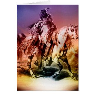 Inheemse Amerikaan Briefkaarten 0