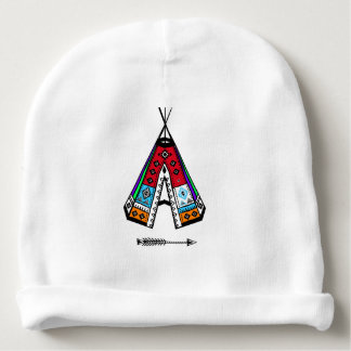 Inheemse Amerikaanse Katoenen van het Tipi Baby Mutsje