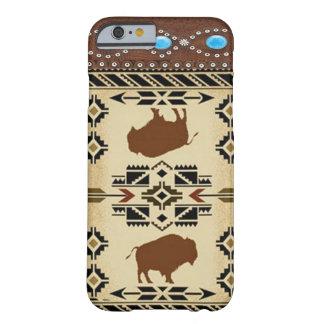 Inheemse Amerikaanse Westerne iPhone 6 van Barely There iPhone 6 Hoesje