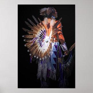 Inheemse Geest Poster