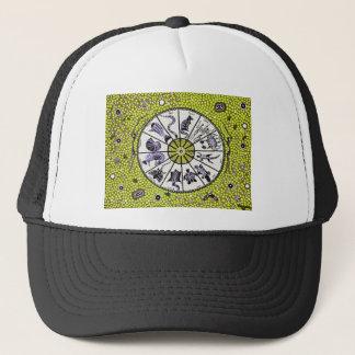 Inheemse Gele Horoscoop Trucker Pet