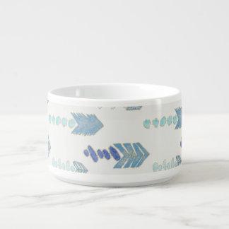 inheemse patroon van boho het elegante blauwe kom
