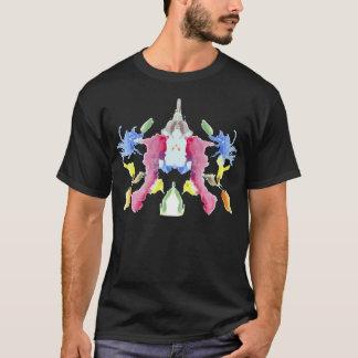 InkBlots van de Test van Rorschach Bord 10 T Shirt