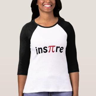 Inspireer de T-shirt van Geek van de Wiskunde