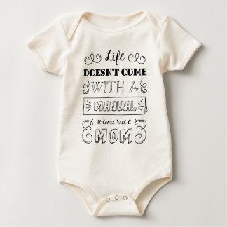 Inspirerend Citaat | van het Leven en van het Baby Shirt