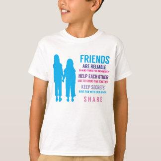 Inspirerend de Vrienden van de Vriendschap van T Shirt
