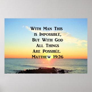 INSPIREREND HET 19:26ONTWERP VAN MATTHEW VAN DE POSTER
