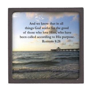 INSPIREREND HET 8:28ONTWERP VAN ROMEINEN PREMIUM CADEAU DOOSJE