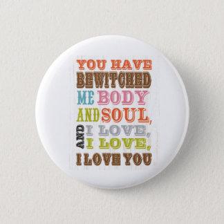 Inspirerend Kunst - de Liefde van I u Ronde Button 5,7 Cm