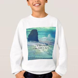 Inspirerend moedcitaat JOAN VAN het zeeoceaan van Trui