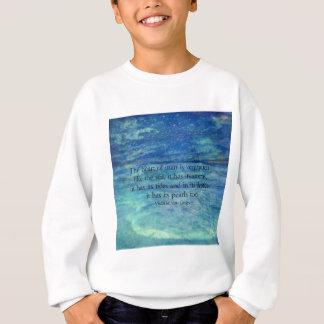 Inspirerend oceaanzeecitaat trui