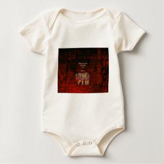 Inspirerend Rumi Wat u naar Citaat streeft Baby Shirt