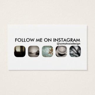 instagram aanhangers visitekaartjes