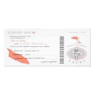 Instapkaart aan de Uitnodiging van het Huwelijk